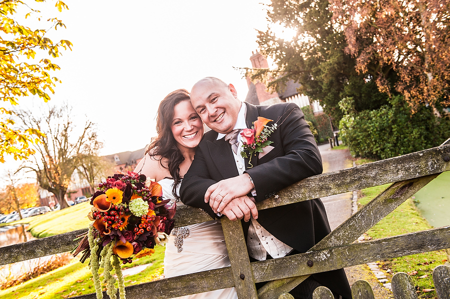 Creative portraits around the grounds at The Moat House in Acton Trussell by Stafford Wedding Photographer Barry James