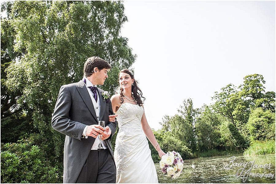 Contemporary creative wedding photography at The Moat House in Acton Trussell by Stafford Wedding Photographer Barry James