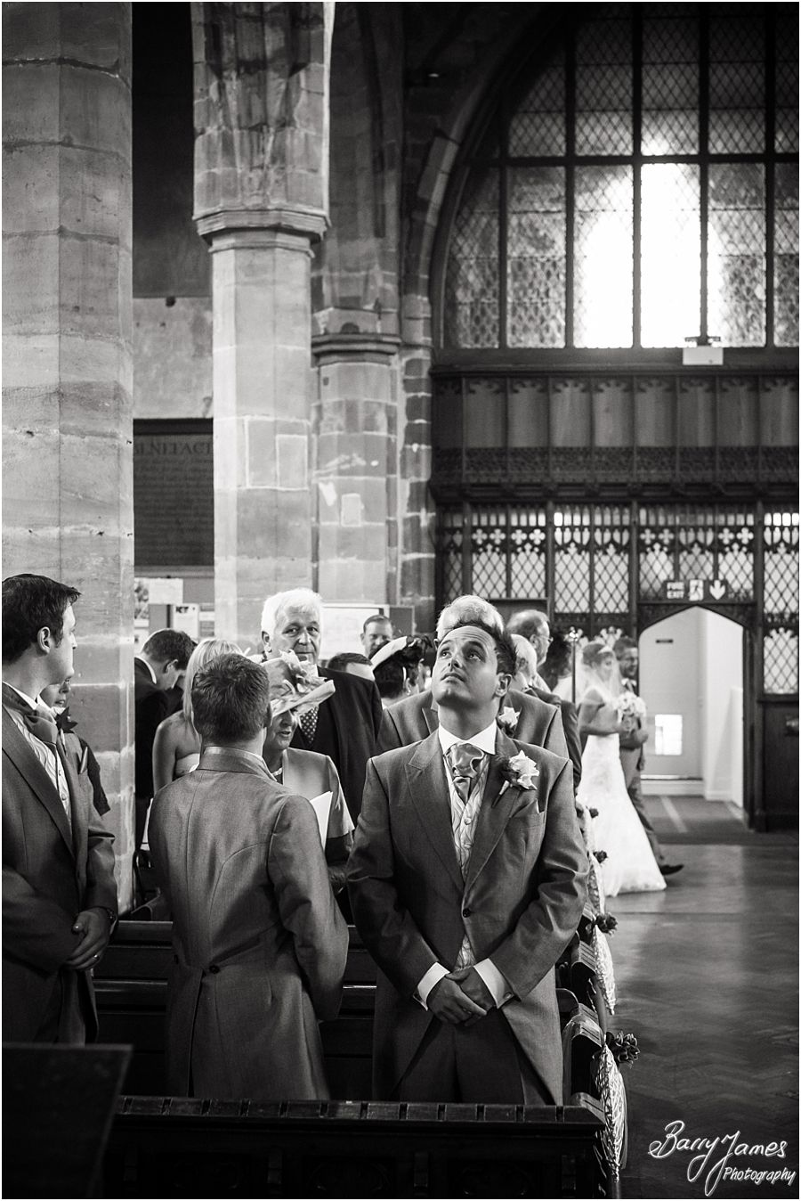 Documentary creative wedding photography at Alrewas Hayes in Burton upon Trent, Staffordshire by Candid Wedding Photographer Barry James