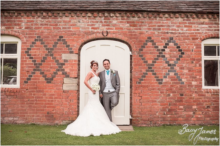 Classical timeless wedding photography at Alrewas Hayes in Burton upon Trent, Staffordshire by Traditional Wedding Photographer Barry James