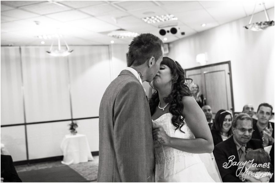 Creative contemporary wedding photography at The Fairlawns in Walsall by Walsall Wedding Photographer Barry James