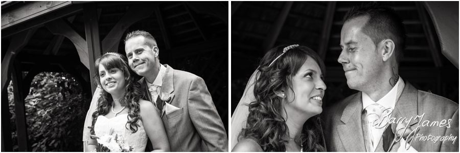 Contemporary and creative wedding photography at The Fairlawns in Walsall by Walsall Wedding Photographer Barry James