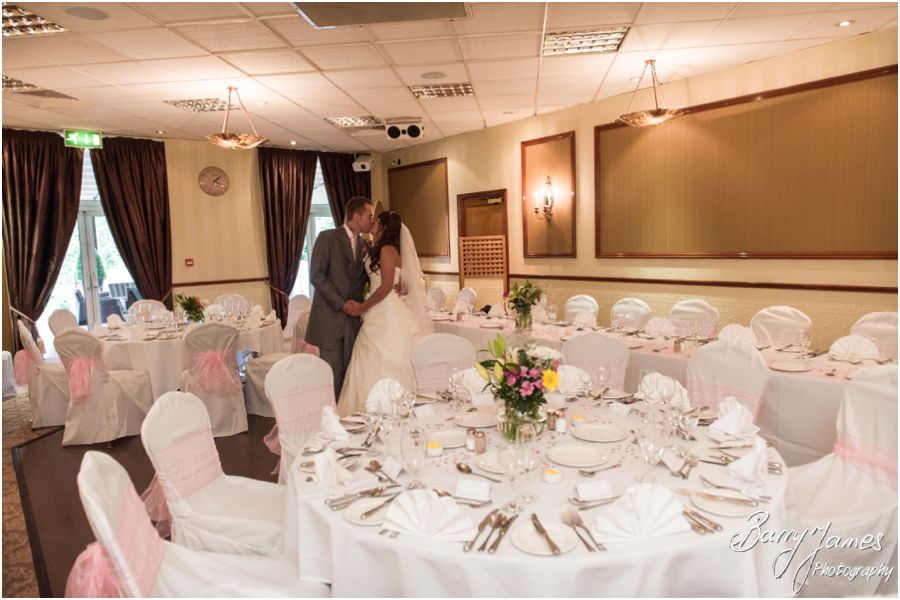 Classical timeless wedding photography at The Fairlawns in Walsall by Traditional Experienced Wedding Photographer Barry James