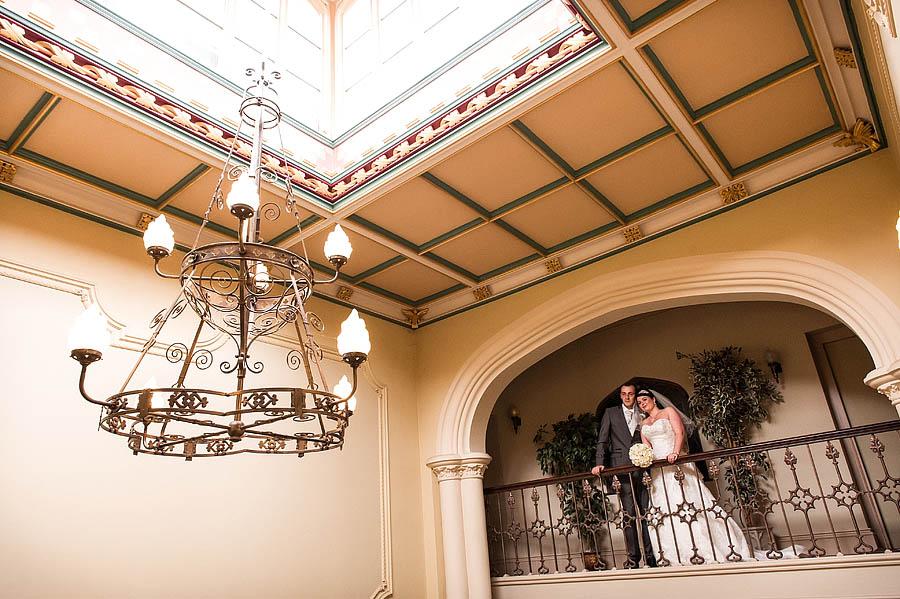 Stunning wedding photographs at Hawkesyard Estate in Armitage nr Lichfield by Lichfield Wedding Photographer Barry James