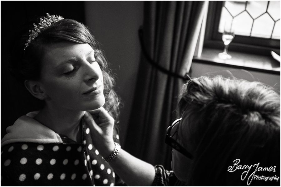 Storybook candid wedding photography of a Winter Moat House wedding in Acton Trussell by Contempoary and Creative Wedding Photographer Barry James
