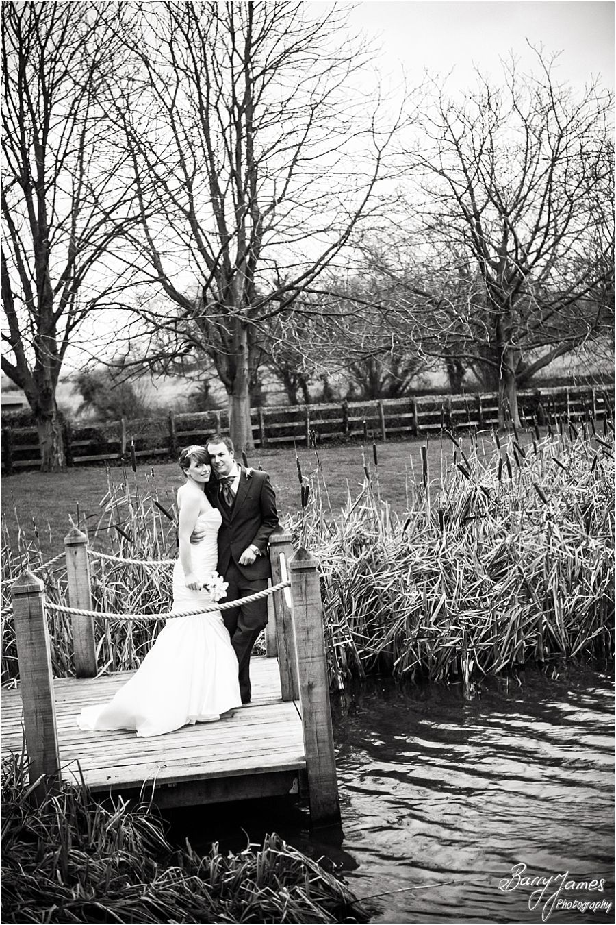 Elegant timeless wedding photographs of a Moat House weddings in Acton Trussell by Stafford Wedding Photographer Barry James
