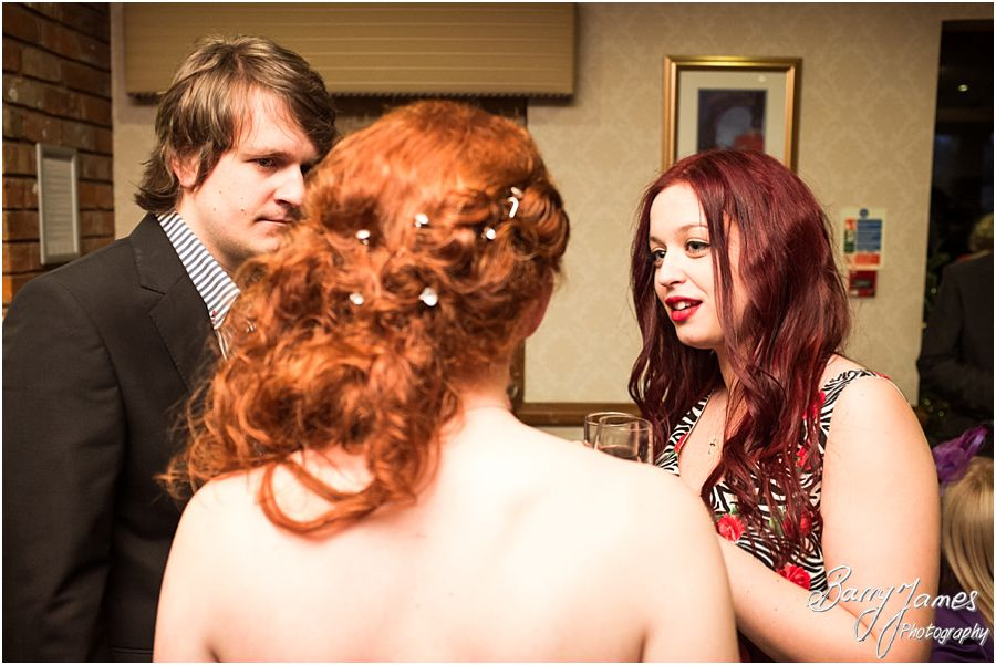 Wedding photography of a Winter Moat House weddings in Acton Trussell by Recommended Wedding Photographer Barry James