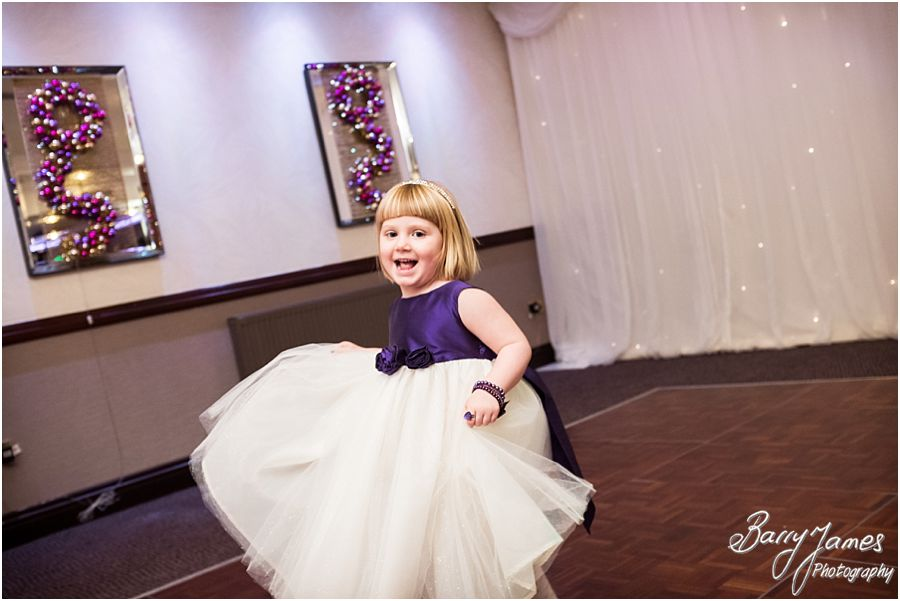 Unobtrusive winter wedding photographs of a Moat House weddings in Acton Trussell by Staffordshire Wedding Photographer Barry James
