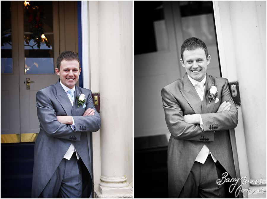 Timeless wedding photography of a Somerford Hall weddings in Brewood by Recommended Wedding Photographer Barry James