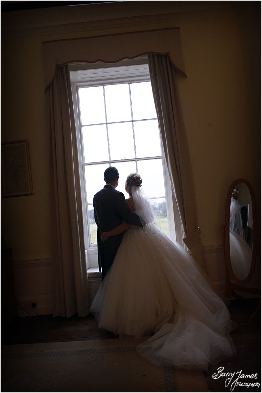 Natural storytelling wedding photography of a Somerford Hall weddings in Brewood by Professional Wedding Photographer Barry James