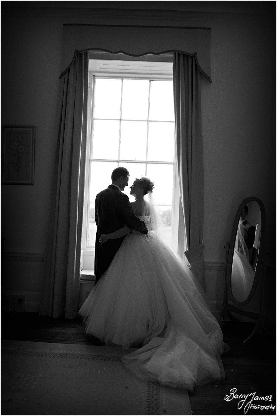 Candid storytelling wedding photography of a Somerford Hall weddings in Brewood by Professional Wedding Photographer Barry James