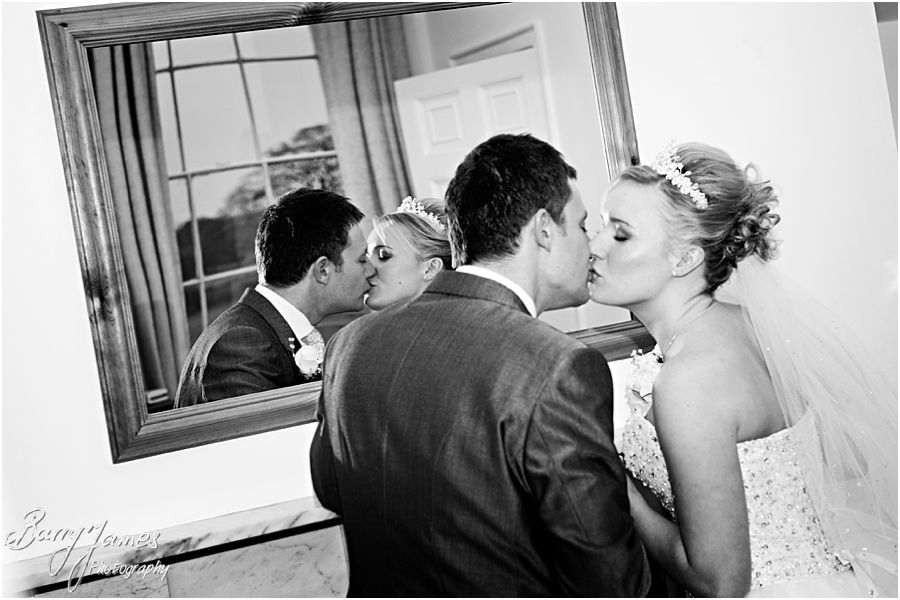 Relaxed wedding at Somerford Hall in Brewood with wedding photography by Award Winning Wedding Photographer Barry James