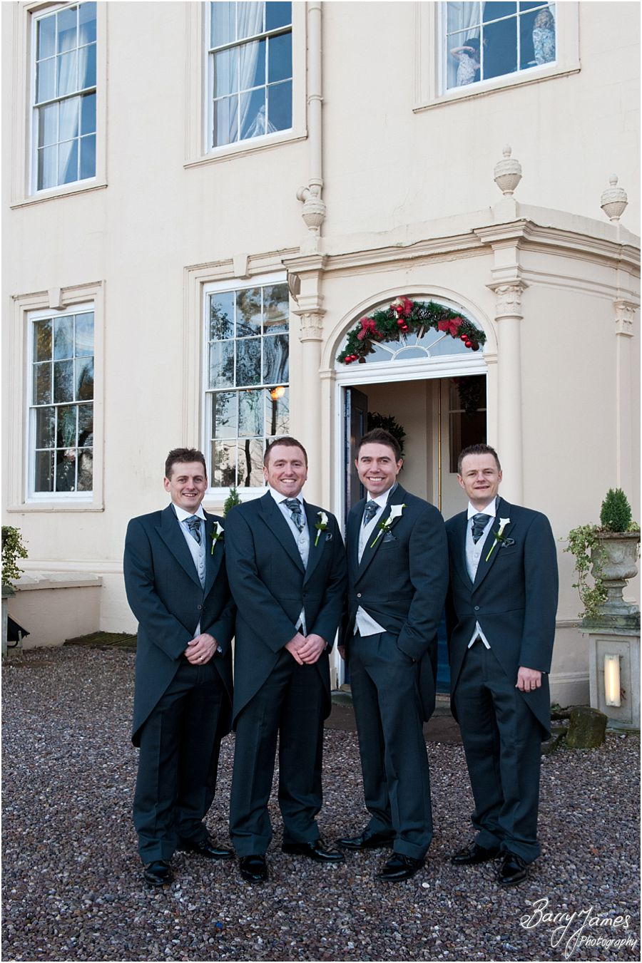 Bespoke creative wedding photography at Somerford Hall in Brewood by Recommended Wedding Photographer Barry James