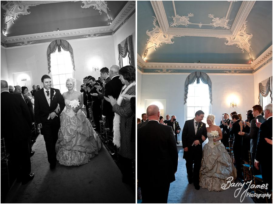 Relaxed winter wedding photography at Somerford Hall in Brewood by Contemporary and Creative Wedding Photographer Barry James