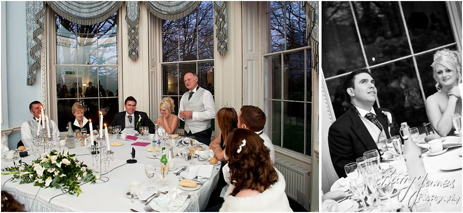 Natural creative wedding photography at Somerford Hall in Brewood by Contemporary and Creative Wedding Photographer Barry James