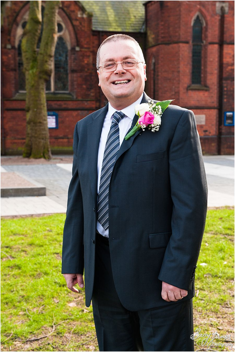 Gorgeous wedding photographs at Walsall Registry Office in Walsall by Walsall Wedding Photographer Barry James