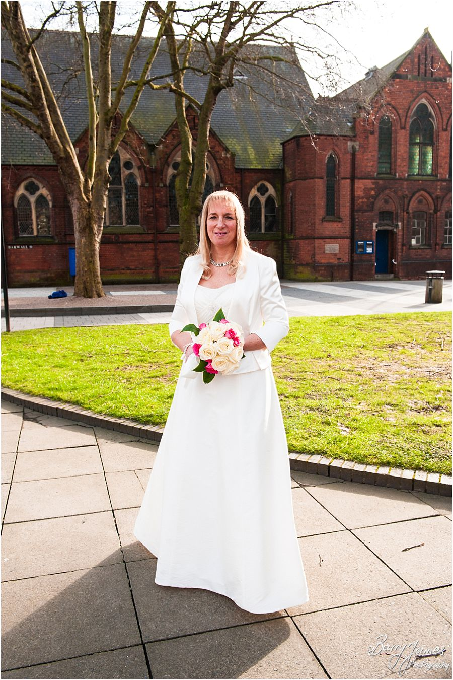 Gorgeous Wedding Photographs At Walsall Registry Office In By Photographer Barry James