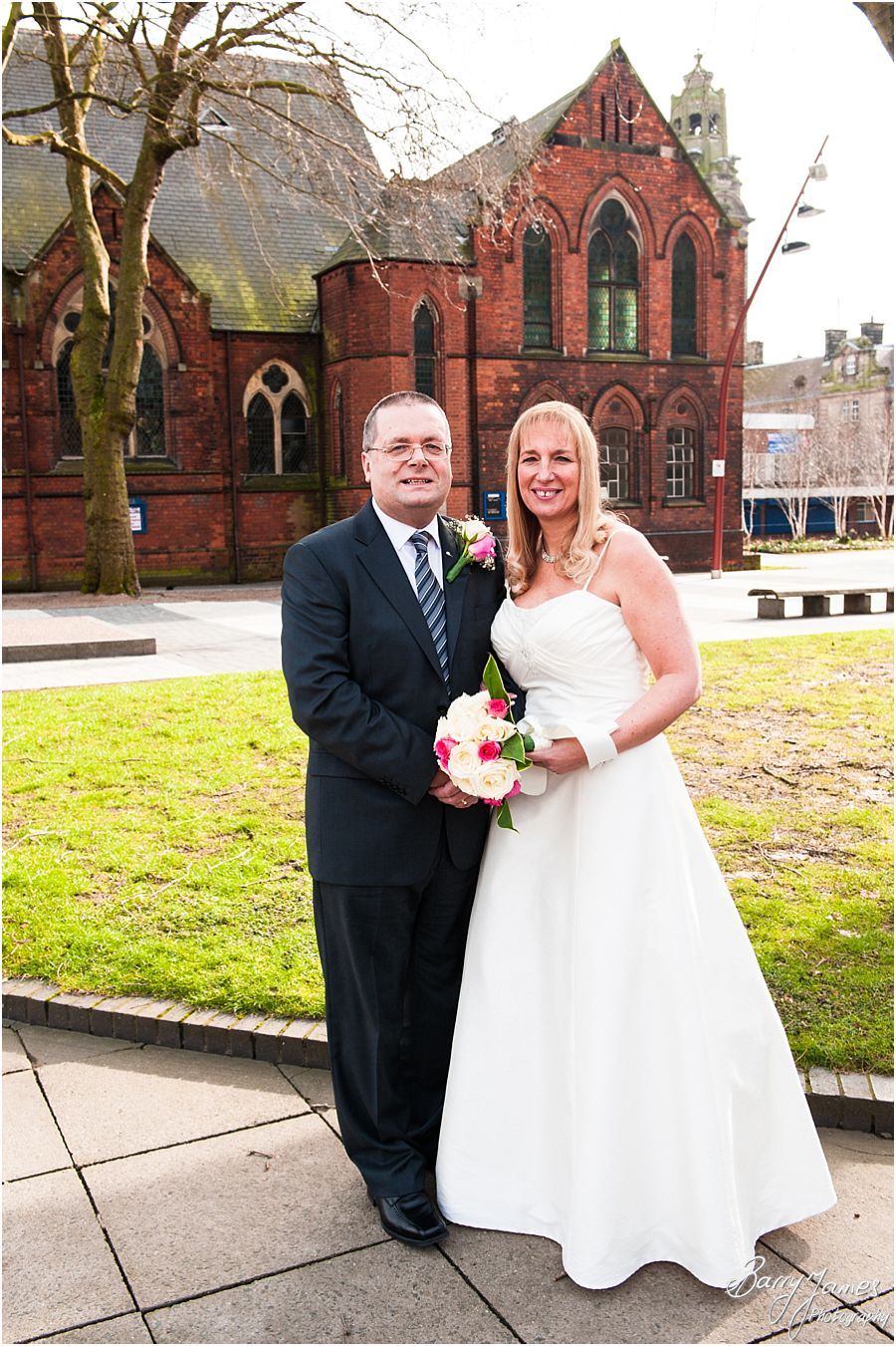 Recommended wedding photographer at Walsall Registry Office in Walsall by Professional Wedding Photographer Barry James