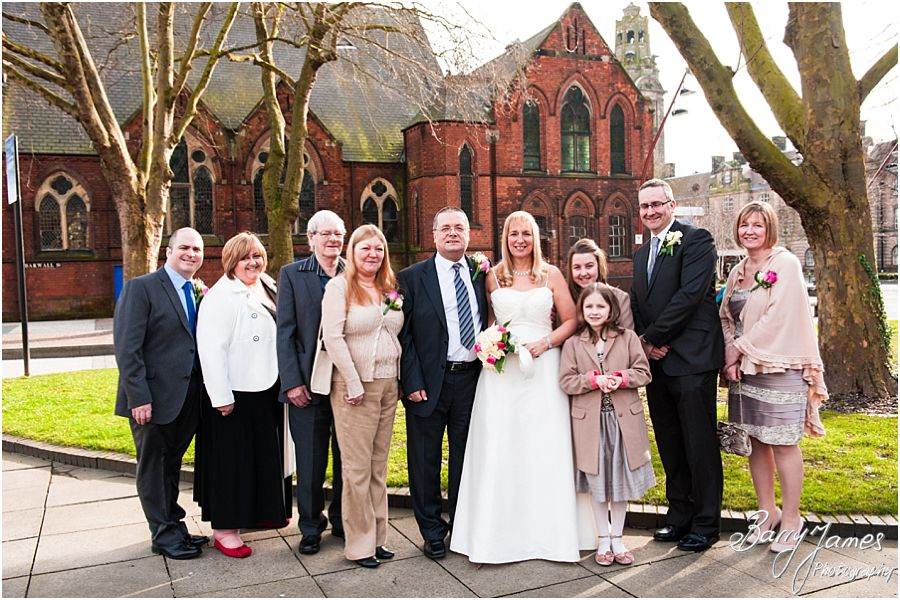 Recommended Wedding Photographer At Walsall Registry Office In By Professional Barry James