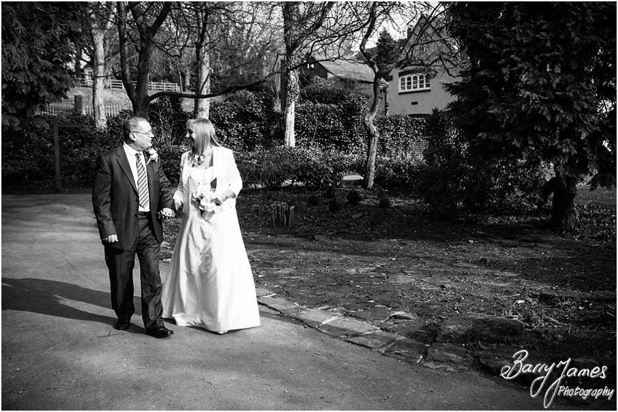 Wedding photographs from experienced award winning wedding photographer at Walsall Arboretum in Walsall by Contemporary Wedding Photographer Barry James