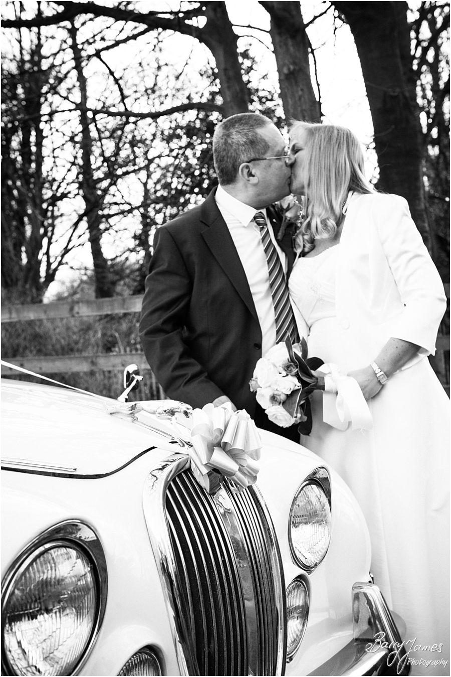 Creative modern wedding photos at Walsall Arboretum in Walsall by Award Winning Wedding Photographer Barry James