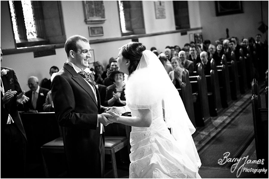 Contemporary relaxed and traditional wedding photographs at Christchurch in Lichfield by Staffordshire Professional Wedding Photographer Barry James