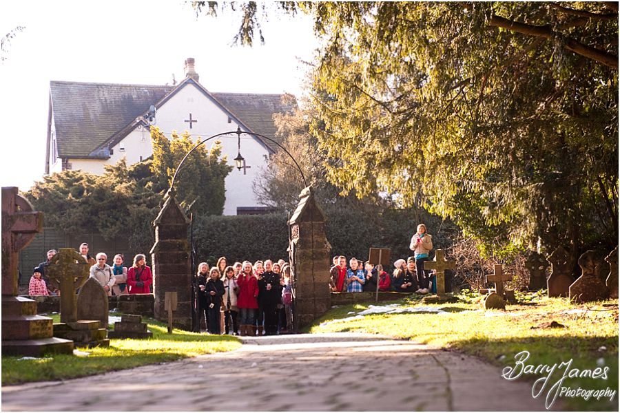 Beautiful wedding photography at Christchurch in Lichfield by Lichfield Wedding Photographer Barry James