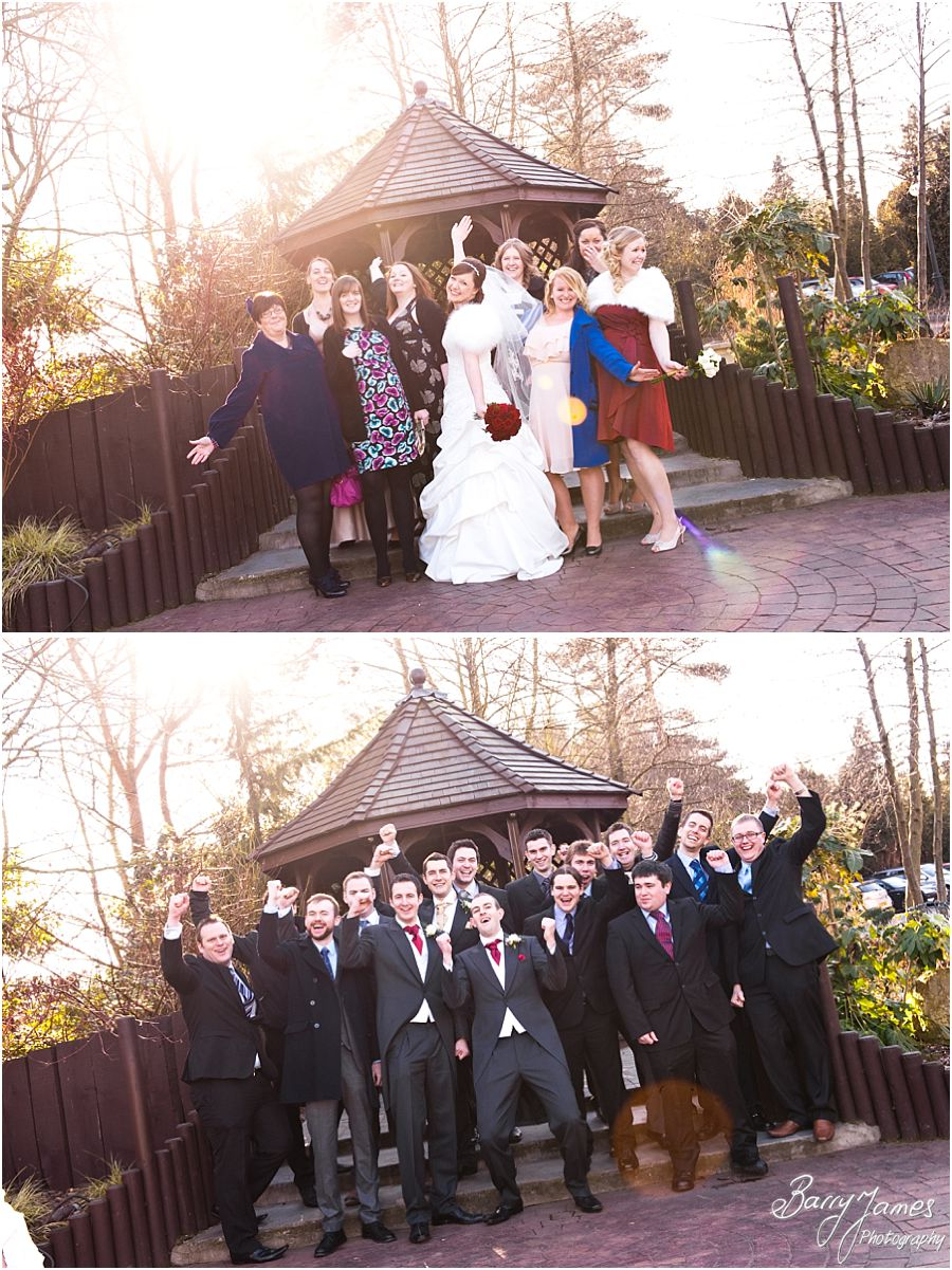 Family group photographs in grounds of The Fairlawns in Aldridge by Walsall Master Wedding Photographer Barry James