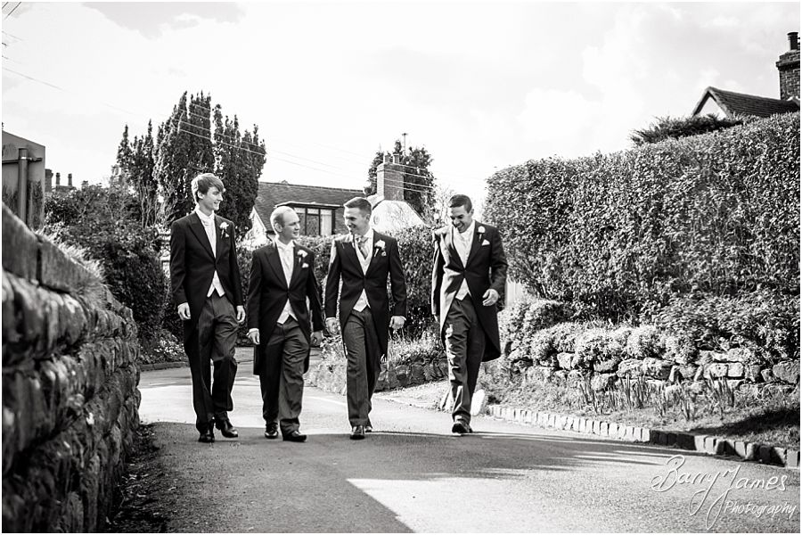 Gorgeous wedding photographs at St Thomas Church in Walton-on-the-Hill by Stafford Wedding Photographer Barry James