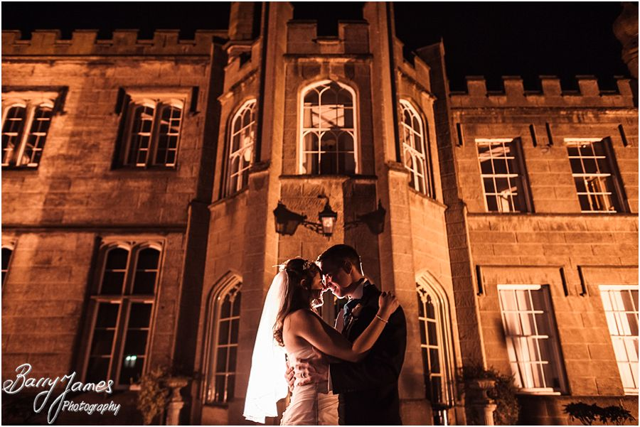 Creative wedding portraits outside Hawkesyard Hall in Rugeley by Contemporary Wedding Photographer Barry James