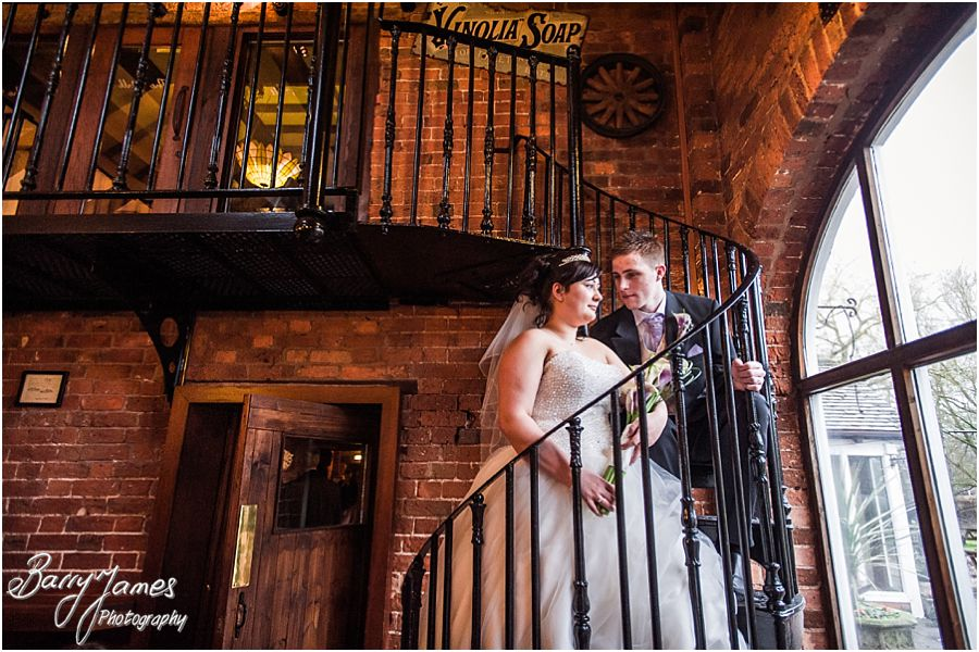 Gorgeous wedding photographs at The Mill in Worston by Stafford Wedding Photographer Barry James