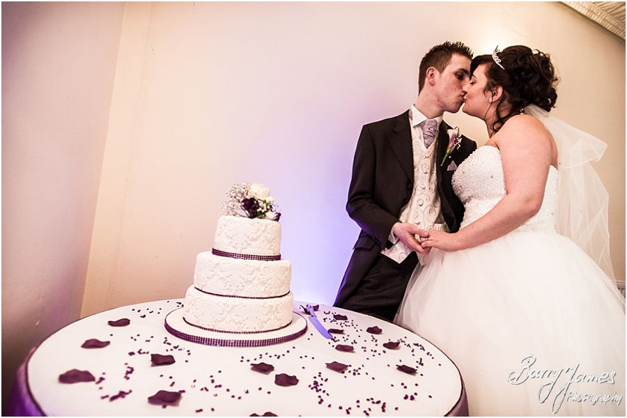 Beautiful venue for wedding breakfast at The Mill in Worston by Stafford Wedding Photographer Barry James