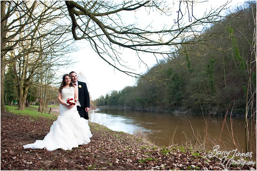 Creative photographs of beautiful wedding at The Valley Hotel in Ironbridge by Creative Reportage Wedding Photographer Barry James