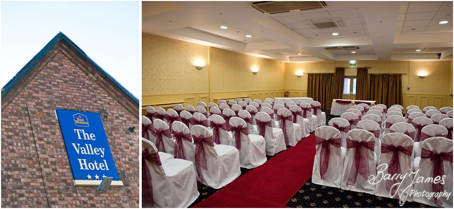 Civil weddings at The Valley Hotel in Ironbridge by Creative Reportage Wedding Photographer Barry James