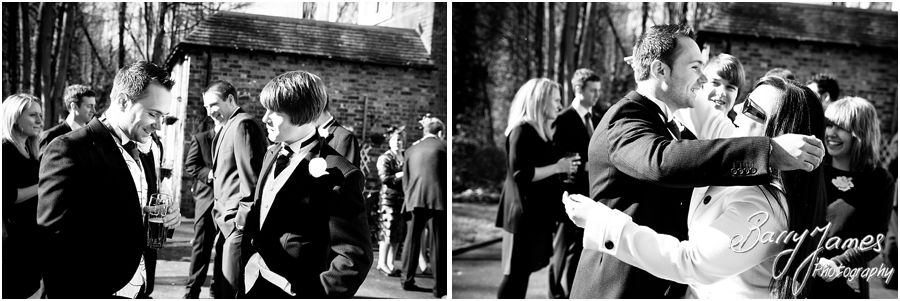 Creative photographs of relaxed wedding morning at The Valley Hotel in Ironbridge by Recommended Telford Wedding Photographer Barry James