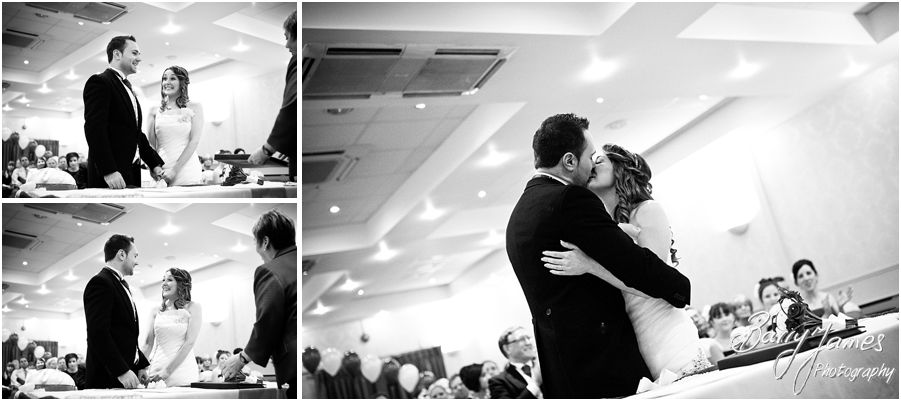Beautiful unobtrusive photographs of wedding ceremony at The Valley Hotel in Ironbridge by Telford Wedding Photographer Barry James