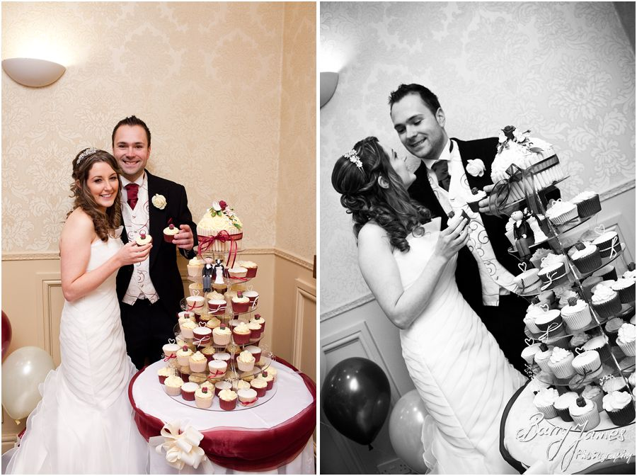 Wedding breakfast at The Valley Hotel in Ironbridge by Telford Wedding Photographer Barry James