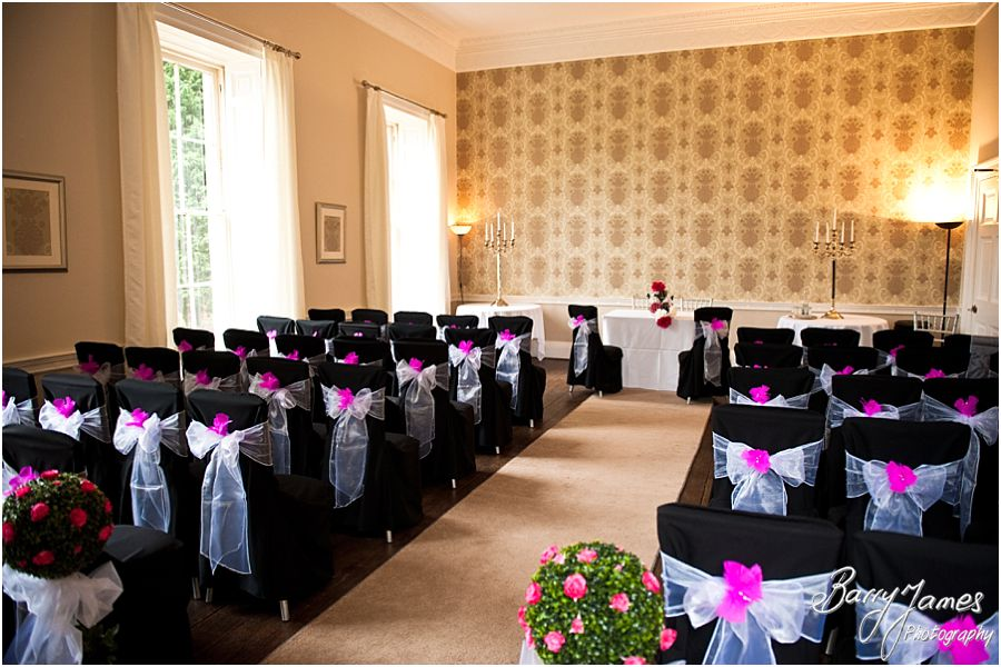 Wedding photography at Somerford Hall in Brewood by Master Wedding Photographer Barry James