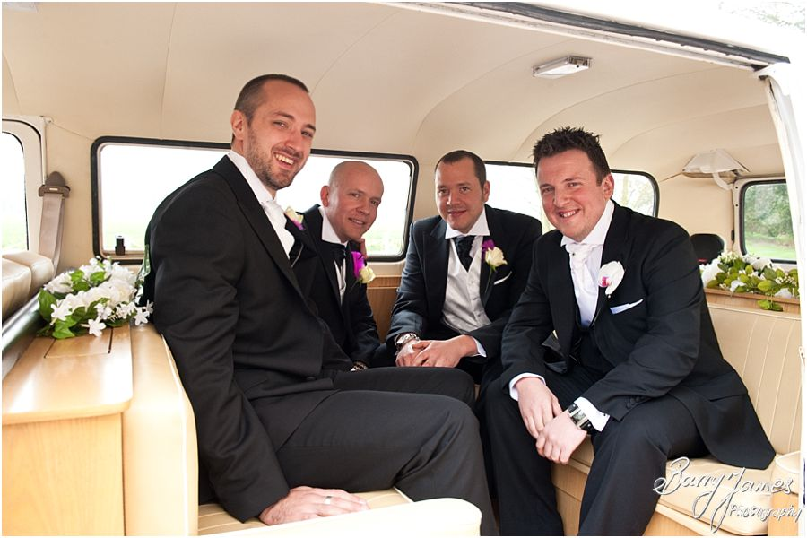 Creative contemporary wedding photography at Somerford Hall in Brewood by Recommended Wedding Photographer Barry James