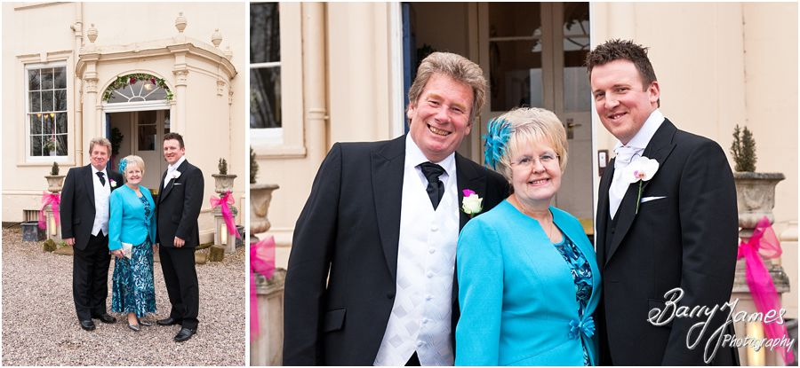 Beautiful wedding photography at Somerford Hall in Brewood by Full Time Professional Wedding Photographer Barry James