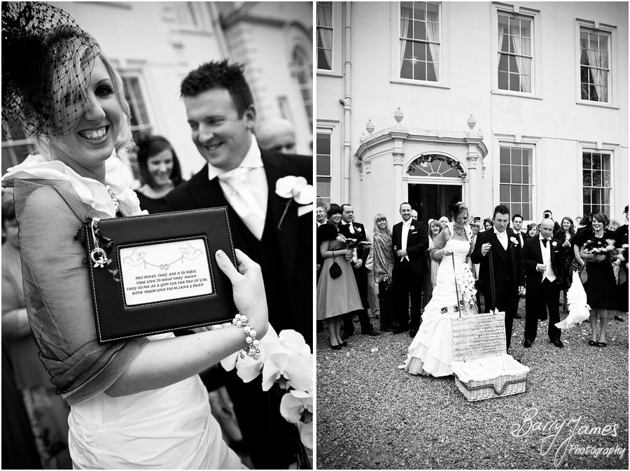 Contemporary traditional wedding photographs at Somerford Hall in Brewood by Wolverhampton Wedding Photographer Barry James