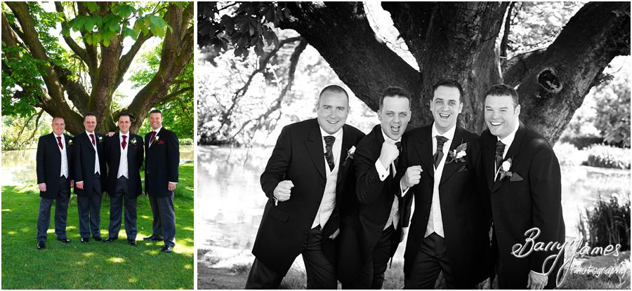 Professional and experienced wedding photographer at The Moat House in Acton Trussell by Stafford Wedding Photographer Barry James