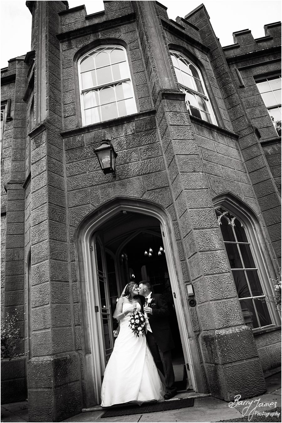 Venue recommended wedding photographer at Hawkesyard Estate in Rugeley by Award Winning Wedding Photographer Barry James