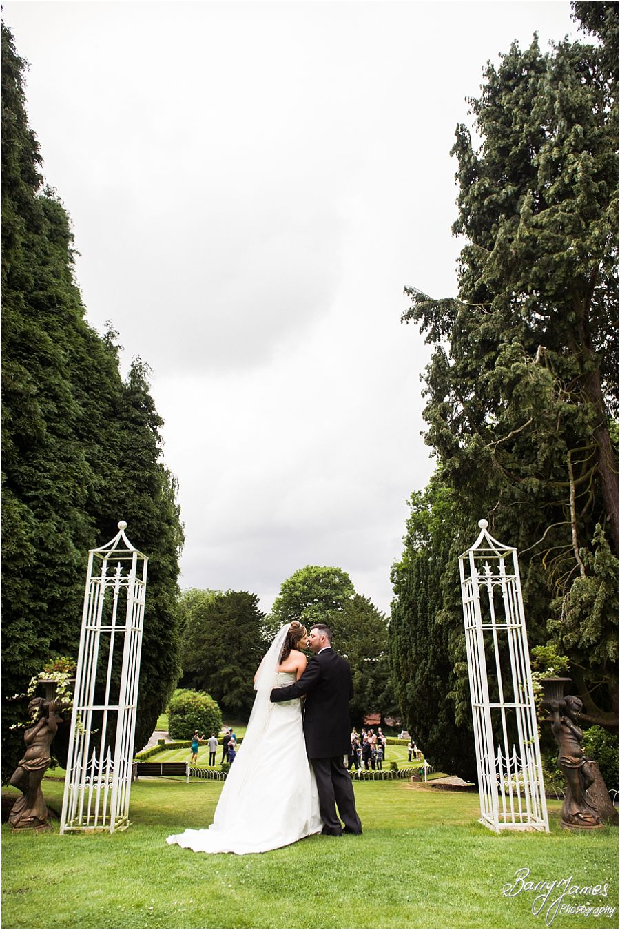 Reportage and contemporary wedding photography at Hawkesyard Estate in Rugeley by Full Time Rugeley Wedding Photographer Barry James