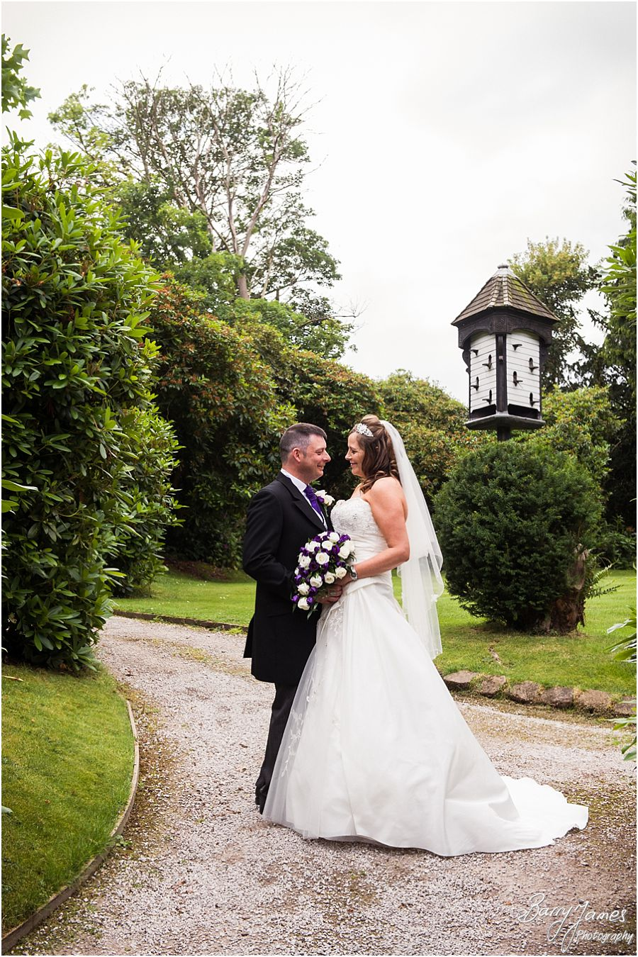 Storybook wedding photography that captures the wonderful wedding at Hawkesyard Estate in Rugeley by Award Winning Wedding Photographer Barry James