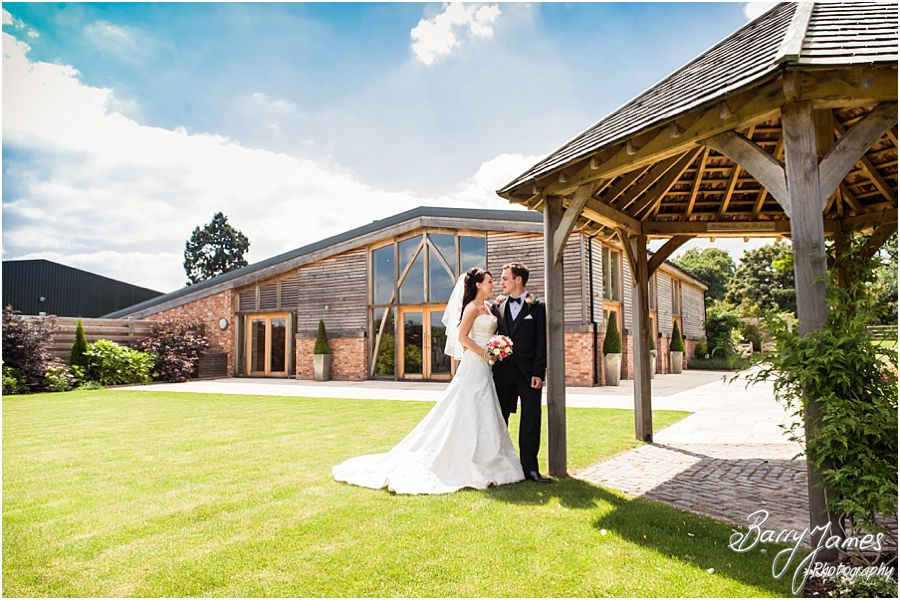Relaxed unobtrusive wedding photography at Mythe Barn in Atherstone, Warwickshire by Warwickshire Wedding Photographer Barry James