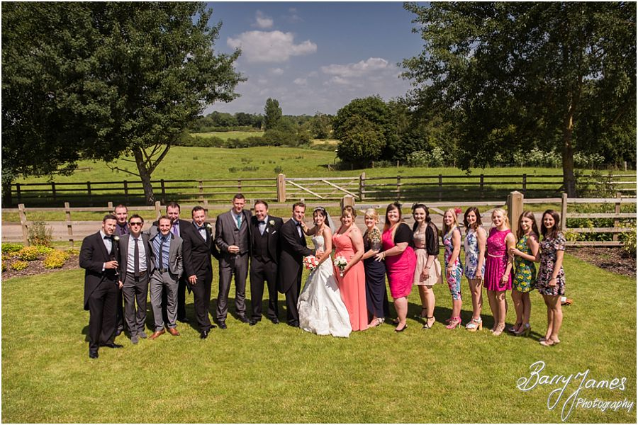Recommended wedding photographers at Mythe Barn in Atherstone, Warwickshire by Warwickshire Wedding Photographer Barry James