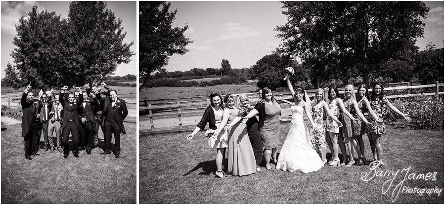 Modern beautiful wedding photography at Mythe Barn in Atherstone, Warwickshire by Warwickshire Wedding Photographer Barry James