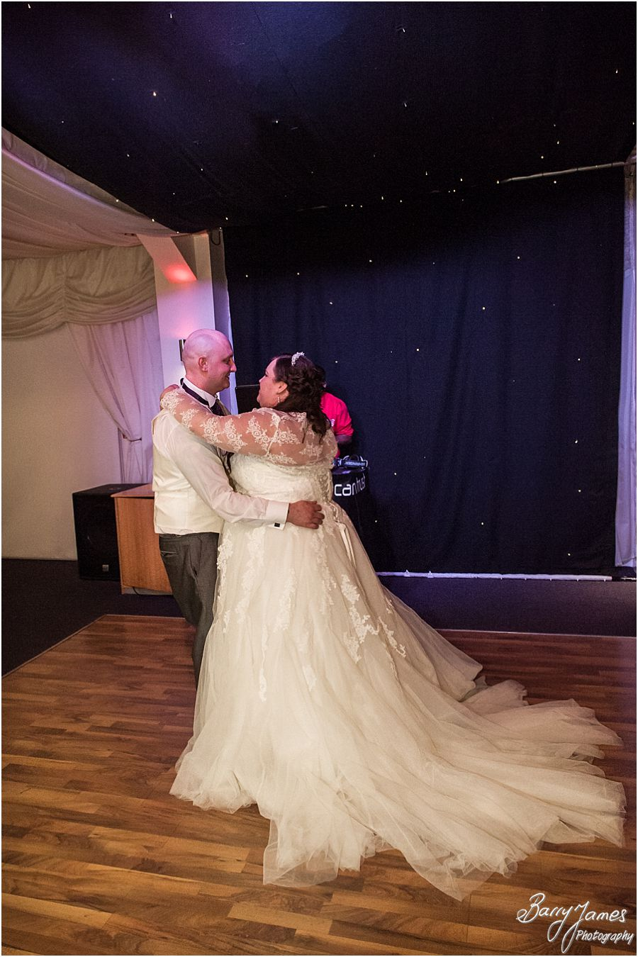 Recommended wedding photographer at Calderfields in Walsall by Contemporary Wedding Photographer Barry James