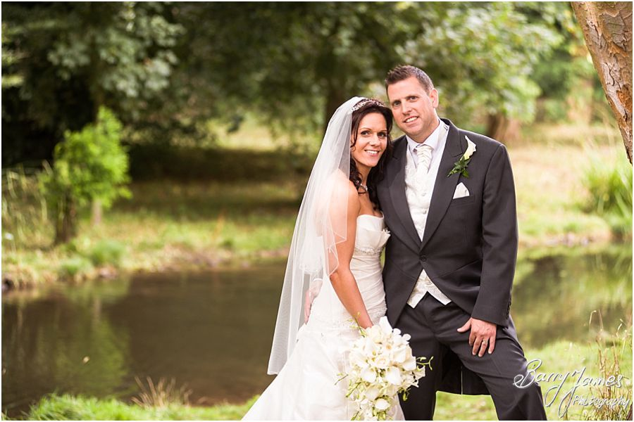 Relaxed contemporary wedding photography at Himley Church in Dudley by Staffordshire Wedding Photographer Barry James